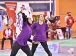 منتخب مصر لزوجي سيدات الريشة الطائرة يستعد لمواجهة هولندا