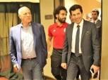 بالصور| وزير الرياضة للاعبي المنتخب:انتم جيل مميز نثق في قدراته