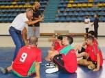 النصر والجزيرة وحلمية الزيتون يتصدرون دوري كرة السلة باتحاد الإعاقات الذهنية