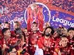 ليفربول يختتم الدوري بثلاثية في شباك نيوكاسل ويسجل رقما قياسيا