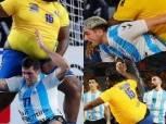 وزنه 110 كجم وعلى الدايرة «فراشة».. جوتييه مفومبي يتألق مع الكونغو في مونديال اليد