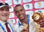علي عيد ومحمد عبدالرحمن يحققان ذهبيتين في الجودو بدورة الألعاب الإفريقية
