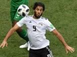 تدريب تأهيلي لـ «مروان محسن» في مران المنتخب الوطني