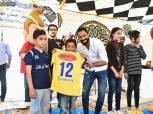 بالصور| حسني عبدربه ينظم احتفالية ليوم اليتيم بمشاركة لاعبي الإسماعيلي