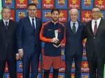 ليونيل ميسي يحصد جائزة جديدة في برشلونة