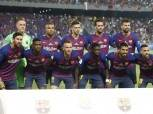 تشكيل برشلونة أمام ليون.. «ميسي» يقود الهجوم