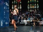 فرحة ودموع لحظة فوز نور الشربيني بلقب بطولة العالم في الاسكواش «فيديو»