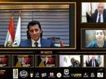 رئيس الأكاديمية العربية يشكر ياسر حفني بطل العالم في الخماسي الحديث
