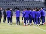 كواليس تدريبات المصري استعدادًا لمواجهة المقاولون في الدوري