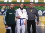 لاعبة المصري تفوز ببطولة الجمهورية لناشئات الجودو