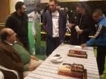 المقاولون العرب يحتفل بعيد ميلاد 6 لاعبين