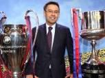 بالصور| رئيس نادي برشلونة من أسوان إلى شرم الشيخ