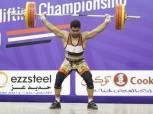 محمد إيهاب يحافظ على رقمه العالمي رغم غيابه عن بطولة العالم لرفع الأثقال