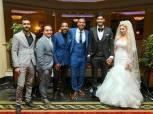 بالصور| نجوم الزمالك في حفل زفاف علي جبر