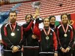 دولة مصر تحقق ذهبية البطولة العربية لتنس الطاولة لزوجي السيدات