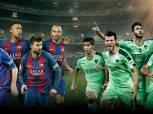 اهلي جدة يلاقي برشلونة في قطر غدا