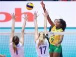 منتخب البرازيل يتأهل لنصف نهائي بطولة العالم لناشئات الطائرة