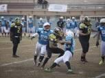 الإيجلز يفوز على كايرو واريرز بإفتتاح مجموعة شرق القاهرة بدوري كرة القدم الأمريكية