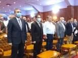 وزير قطاع الأعمال ومحافظ الغربية يكرمان فريق غزل المحلة (صور)