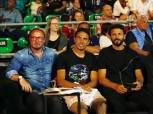 جدو وحسام غالي في نهائي بطولة الجونة الدولية للاسكواش