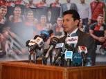 وزير الشباب والرياضة يعلن القاهرة عاصمة الشباب الأفريقي