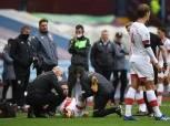 الفحص المبدئي يثبت عدم خطورة إصابة داني إنجز في الركبة
