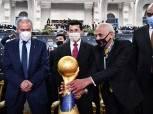 كأس العالم لكرة اليد يصل ستادالقاهرة لتسليمه إلى المنتخب الفائز «صور»