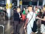 مطار القاهرة يستقبل 4 طائرات لمشجعي الجزائر لحضور مباراة كوت ديفوار