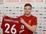 """أندي روبرتسون ثالث صفقات ليفربول بعد """"صلاح وسولانكي"""""""