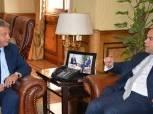 وزير الشباب والرياضة يستقبل رئيس البورصة المصرية