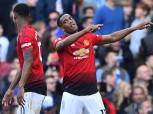 «مارسيال وراشفورد» يقودان هجوم مانشستر يونايتد أمام كارديف سيتي