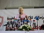 رئيس الزمالك يحرض الموظفين على الإضراب والتظاهر
