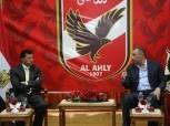 تفاصيل جلسة «الخطيب» مع وزير الرياضة و«حطب»