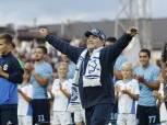 مارادونا يقترب من تدريب فريق خيمناسيا لا بلاتا الأرجنتيني