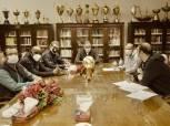 الخطيب يناقش مع موسيماني احتياجات الأهلي قبل المونديال