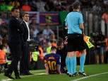 بالفيديو..الإصابة تعاود ميسي مجددا في انتصار برشلونة على فياريال بالليجا