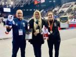 وزير الرياضة يهنئ سمر حمزة على حصد لقب الجائزة الكبرى للمصارعة