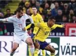 تصفيات المونديال.. السويد تهزم إسبانيا ولوكاكو يقود بلجيكا للفوز على إستونيا