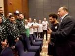 كواليس لقاء محمد صلاح برئيس الاتحاد السكندري: رافع رأس المصريين بالخارج