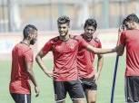 مران قوي للاعبي الأهلي المستبعدين من مباراة فيتا كلوب الكونغولي