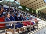 صور.. انطلاق بطولة الجمهورية لألعاب القوى تحت 18 بالقليوبية