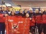 سيدات تنس طاولة الأهلي يتوج بـ«كأس مصر» على حساب الزمالك