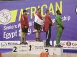 6 ميداليات متنوعة لمصر بمنافسات وزن 109 كجم بالبطولة الأفريقية لرفع الأثقال