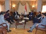 وزير الرياضة يكرم رابطة النقاد .. ويناقش سبل التعاون في تنظيم أمم أفريقيا