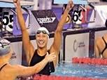 الجزيرة يكرم السباحة فريدة عثمان لتحطيمها الرقم الافريقى والمصرى فى 100 متر