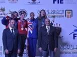 النمسا وإنجلترا وأمريكا وإيطاليا يحصدون الذهب في بطولة العالم لرواد السلاح