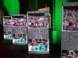 بالصور| الاتحاد الإفريقي يستعرض عبر شاشات الفرق المتأهلة لدوري الأبطال والكونفدرالية