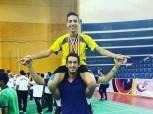 لاعب منتخب الريشة الطائرة يصعد لأولمبياد الشباب بالأرجنتين
