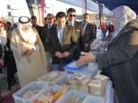 وزير الرياضة وأمين عام منظمة التضامن الإسلامي في جولة تفقدية بمركز شباب الجزيرة