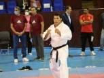 وزير الرياضة يشارك في مران رواد الكاراتيه بنادي الزهور (صور)